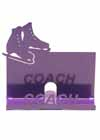 Business Card Holder for Your Coach in Purple