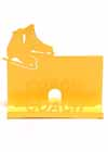 Business Card Holder for Your Coach in Yellow