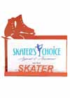 Business Card Holder for a Skater Red