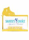 Business Card Holder for a Skater Yellow