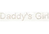 "Figure Skating Rhinestone Applique ""Daddy's Girl"""