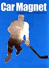 Magnet Male Hockey Player B for Car, Locker or Anywhere