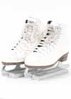 Consignment Riedell 15 White Beginner Skate Boot Size 3 M