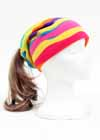 Custom Fleece Drawstring Ponytail Hat Waves